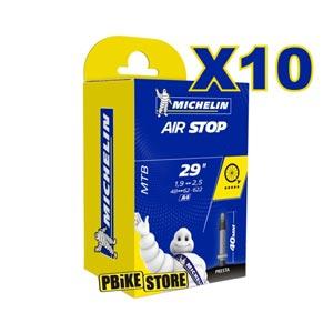 10 Camere MTB Michelin Airstop A4 29x1.90-2.60 Presta