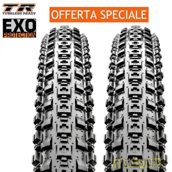 coppia maxxis crossmark 29x2.10 tubeless ready dual exo tb96665100