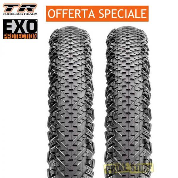 Coppia Maxxis Tread Lite 29x2.10 Tubeless Ready DUAL EXO 120TPI tb96659100