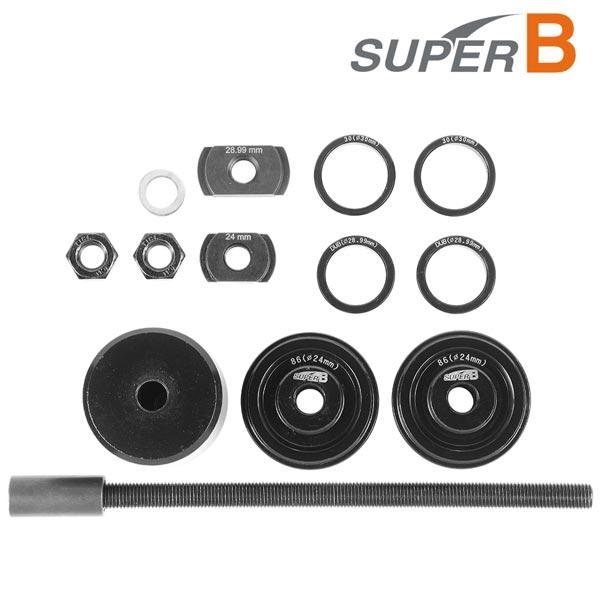 super b tb-19003 pressa per cuscinetti mtb bb30 sram dub