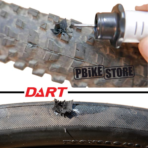 utilizzo dart tool Stan's notubes riparazione tubeless