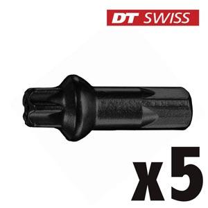 DT Swiss Nipples Pro Lock Squorx Pro Head Alu 2.0 mm Neri