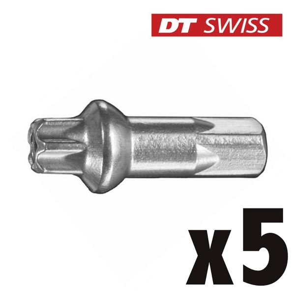 DT Swiss Nipples Pro Lock Squorx Pro Head Alu 2.0 mm Silver