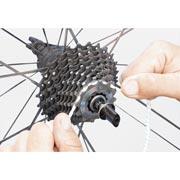 utilizzo finish line gear floss spaghi in microfibra