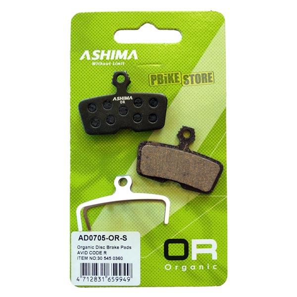 Pastiglie Ashima Organiche Sram Code R / Guide RE