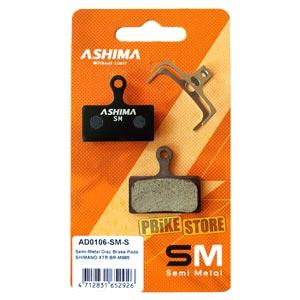 Pastiglie Ashima Semimetalliche Shimano XTR-XT-SLX 2011
