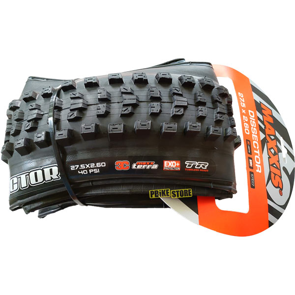 maxxis dissector 27.5x2.60 exo plus 3c tr