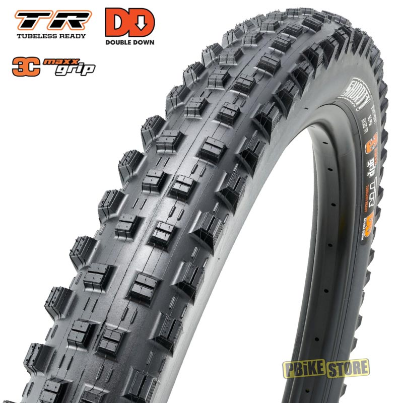 Maxxis Shorty 29x2.40 wt DD 3c Maxx Grip Tubeless Ready