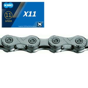 KMC Catena X11 Grey 116 Link con falsamaglia