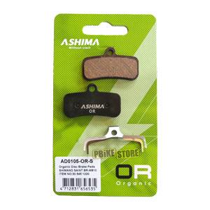 Pastiglie Ashima Organiche Shimano Saint / Zee / XT 4 Pistoncini