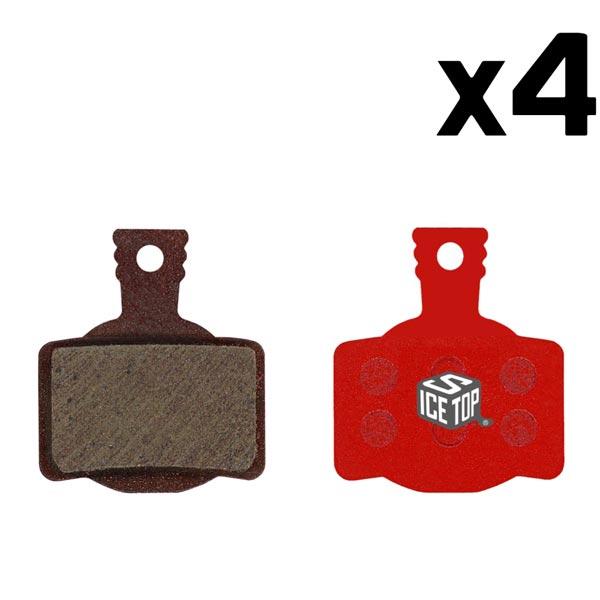 4 Coppie Pastiglie freno Magura MT8-MT4-MT6-MT2-MTS Icestop