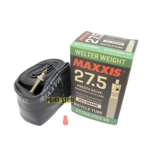 Camera d'aria Maxxis Welter Weight 27.5x2.2-2.50 Presta RVC IB75097100