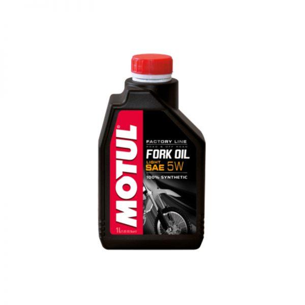 MOTUL olio per forcelle 5w factory line light 1 litro