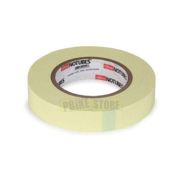 notubes nastro tubeless rim tape yellow 25mm confezione officina 55mt