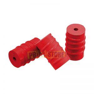 Anelli salvatelaio in silicone colore ROSSO 3 pezzi