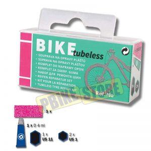 BIKE Kit Riparazione copertoni Tubeless MTB