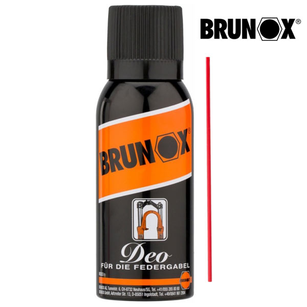 Brunox DEO olio lubrificante spray per forcelle
