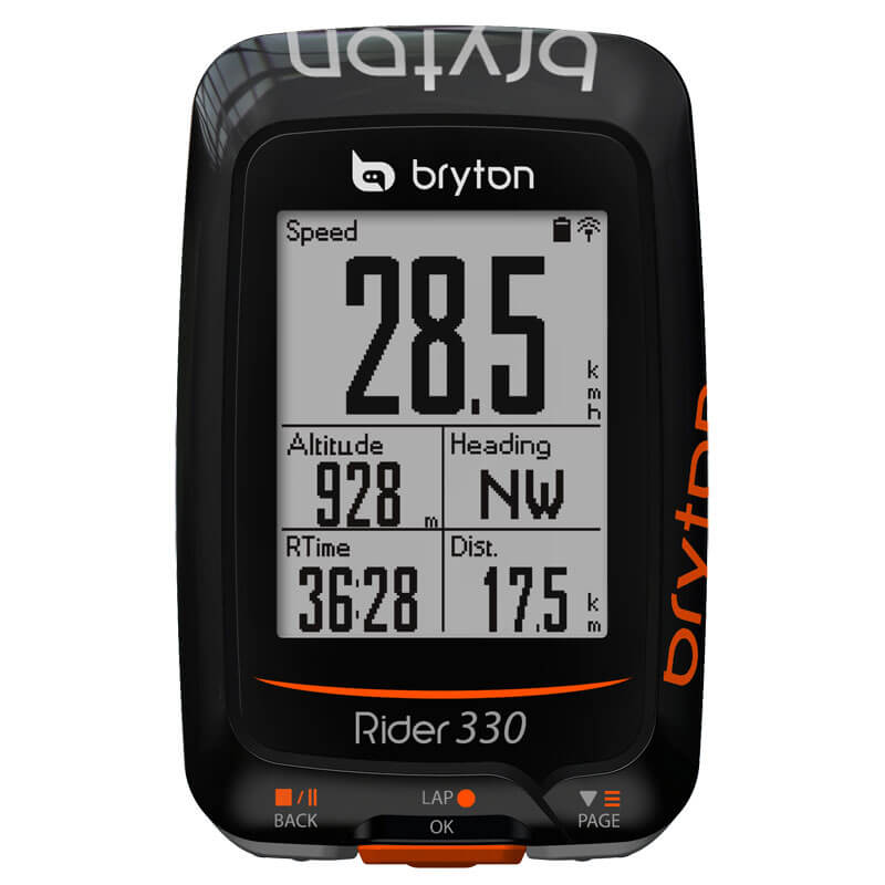 Bryton Rider 330E Ciclocomputer GPS ANT+