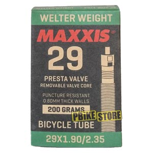 Camera d'aria Maxxis Welter Weight 29x1.9-2.35 Presta RVC