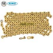 catena kmc x11 sl ti-gold 116 maglie