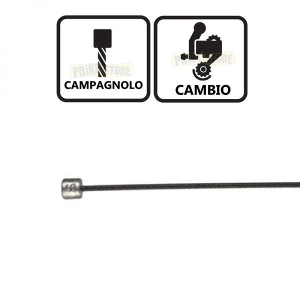 Cavo Cambio Campagnolo Ashima Reaction Slick Nero
