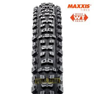 maxxis aggressor 29x2.50 wt exo tr dual vista frontale