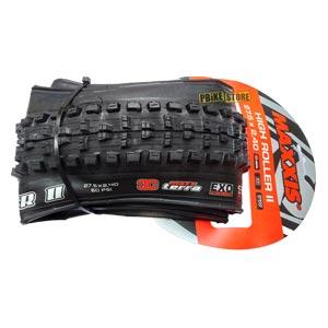 tb91052100 maxxis high roller ii 27.5x2.40 3c maxx terra exo tubeless ready