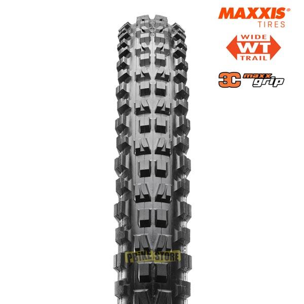 Maxxis Minion DHF wt 27.5x2.50 3c Maxx Grip exo tr Vista Frontale