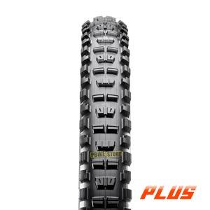 Maxxis MINION DHR II PLUS 27.5x2.80 Tubeless Ready 3C EXO vista frontale