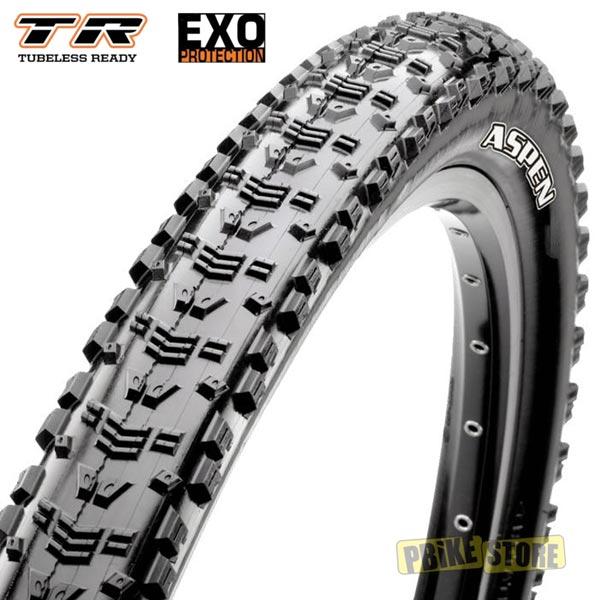 maxxis aspen 29x2.25 tubeless ready exo dual 120 tpi tb96895500