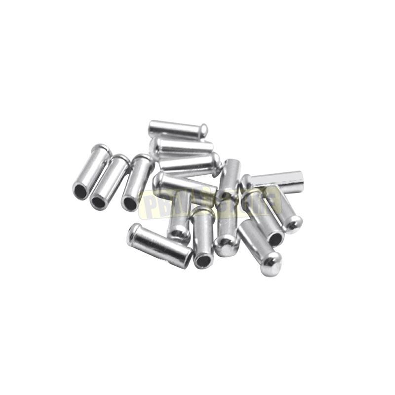 Coprifilo universale cambio-freno Silver 10 Pezzi