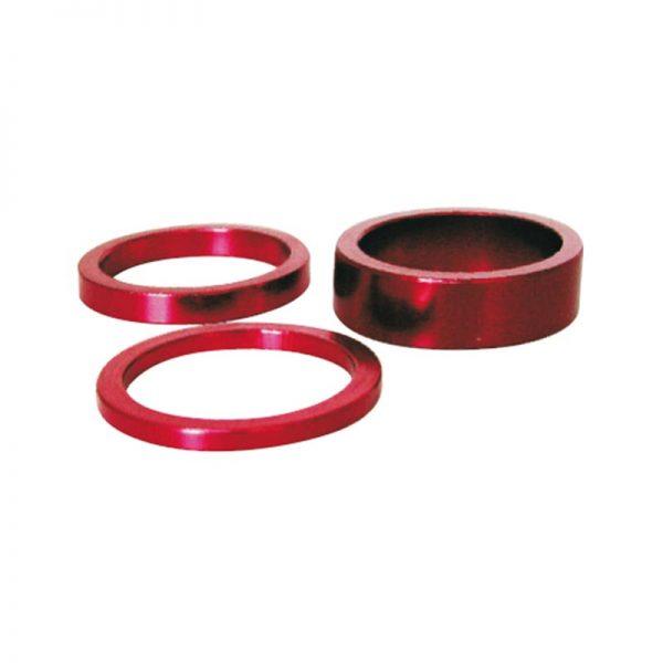 Distanziale serie sterzo in alluminio ROSSI diverse misure