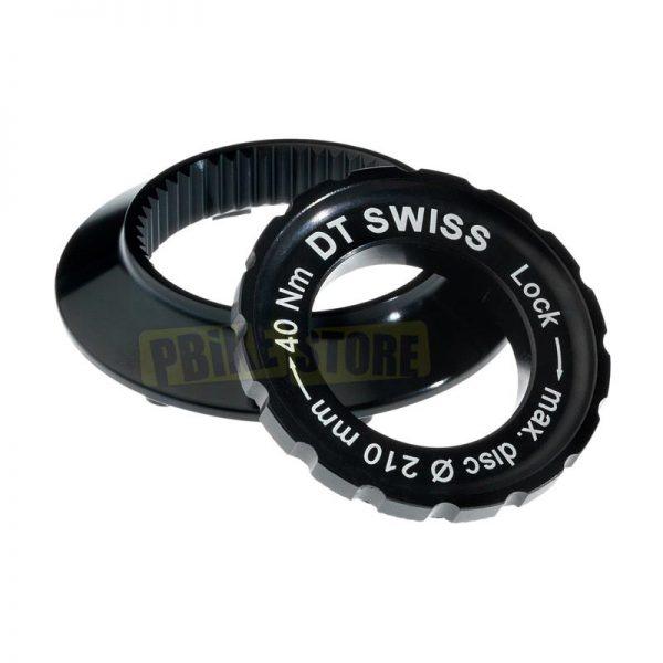 DT Swiss Adattatore Centre Lock a 6 fori per perno passante 15mm