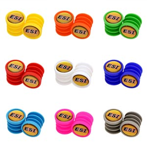 ESI Grips Tappi Manopole Bar Plugs colori assortiti