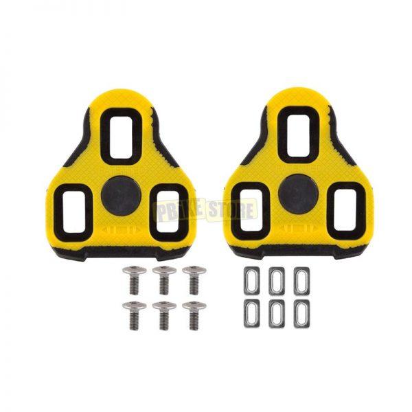 Exustar Tacchette Pedali strada Nere E-Blk11