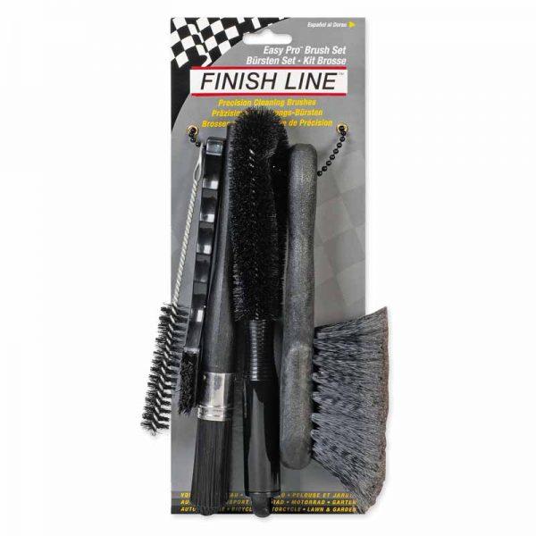Finish Line Easy Pro Kit Di 5 Spazzole FIN102 Box