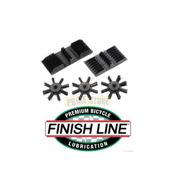 Finish Line Ricambio rotelline e spazzole per chain cleaner FIN02R
