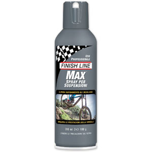 Finish Line Max Suspension Spray lubrificante per forcelle