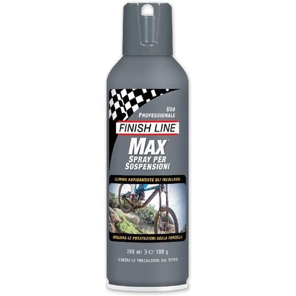 Finish Line Max Suspension Spray lubrificante per forcelle