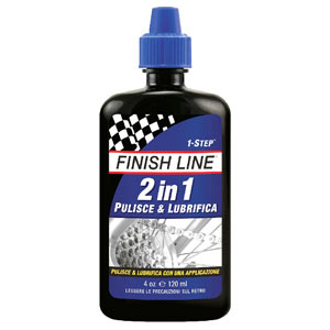 FINISH LINE Olio 2 In 1 Pulisce E Lubrifica La Catena 120 ml FIN117
