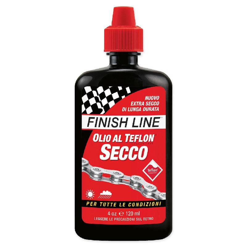 Finish Line Olio Secco Dry Teflon Plus Rosso 120 ml FIN08