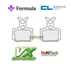 Pastiglie CL Brakes VX Sinterizzate Formula R1 / R0 / RX / Mega / The One 4046VX