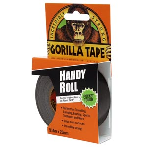 Gorilla Tape Handy Roll Nastro Tubeless 25mm