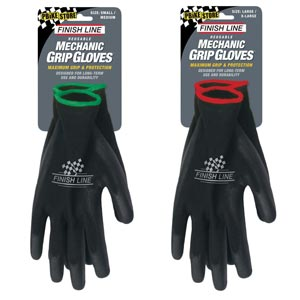 guanti meccanico finish line grip mtb