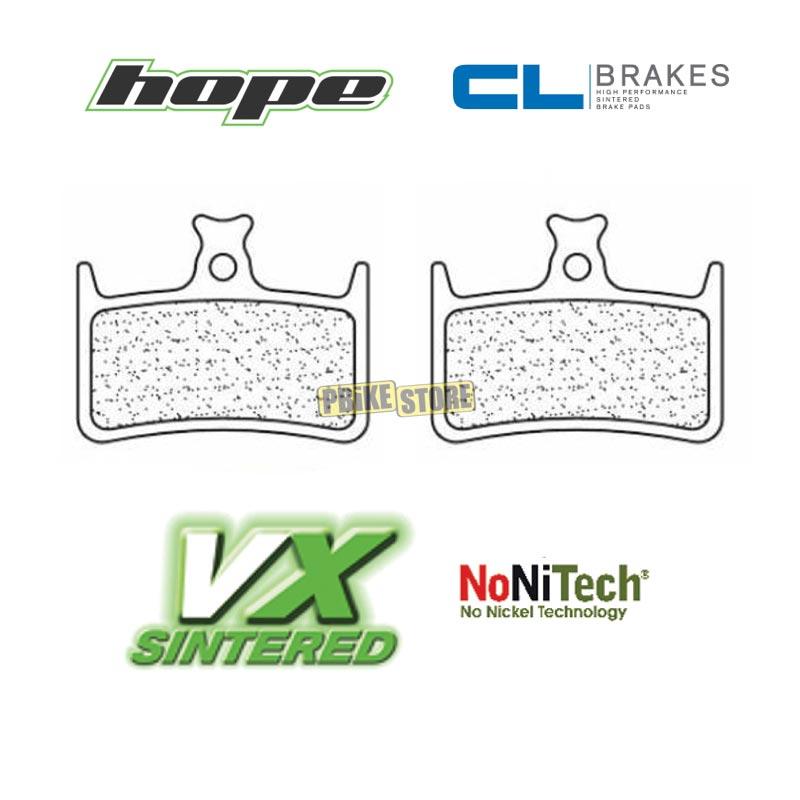Hope Tech 3 E4 pastiglie freno CL-Brakes VX sinterizzate