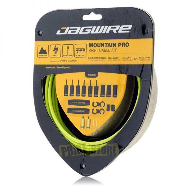 Jagwire Mountain Pro kit completo guaine cambio Verdi