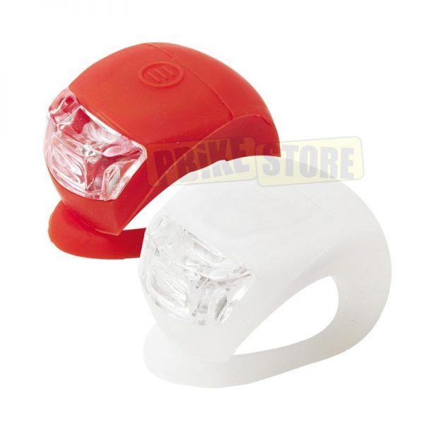 kit Luci Anteriore e posteriore in Silicone Doppio LED