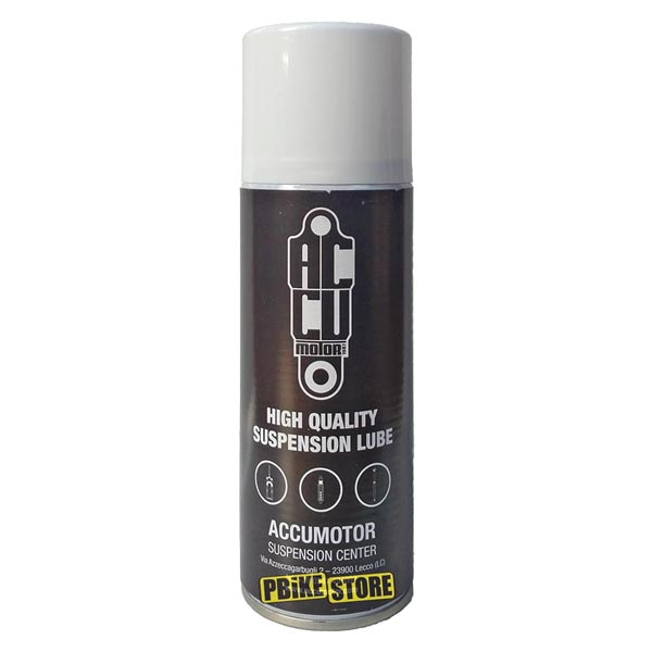 lubrificante spray accumotor high quality suspension lube