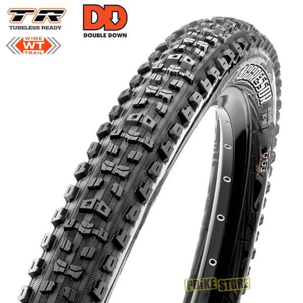 maxxis aggressor 27.5x2.50 wt dd tubeless ready dual tb85984100
