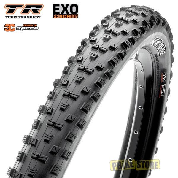 maxxis forekaster 27.5x2.60 wt 3c maxx speed exo tubeless ready tb91144200